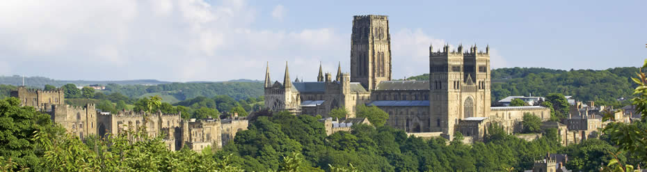 durham cathedral panorama