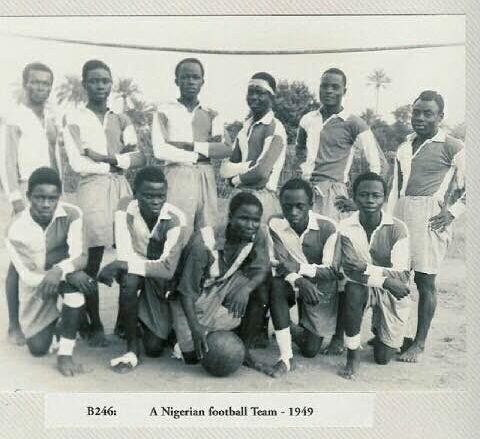 First nigerian soccer game