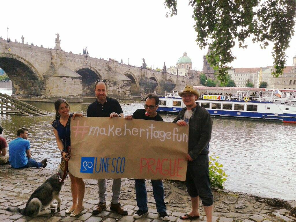 #makeheritagefun Prague