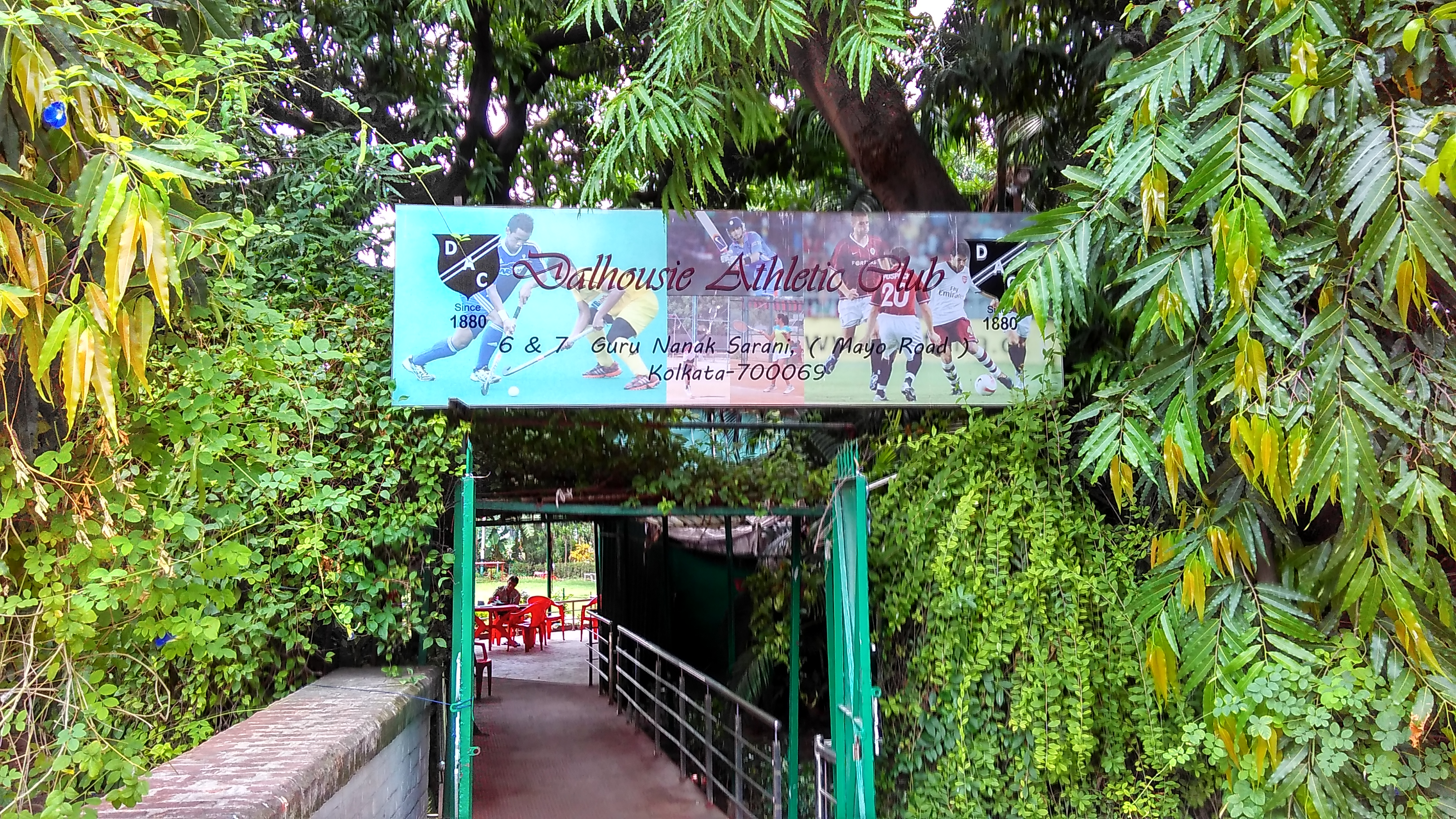 Dalhousie Athletic Club established in 1880. Photo by Abhimanyu Sengupta