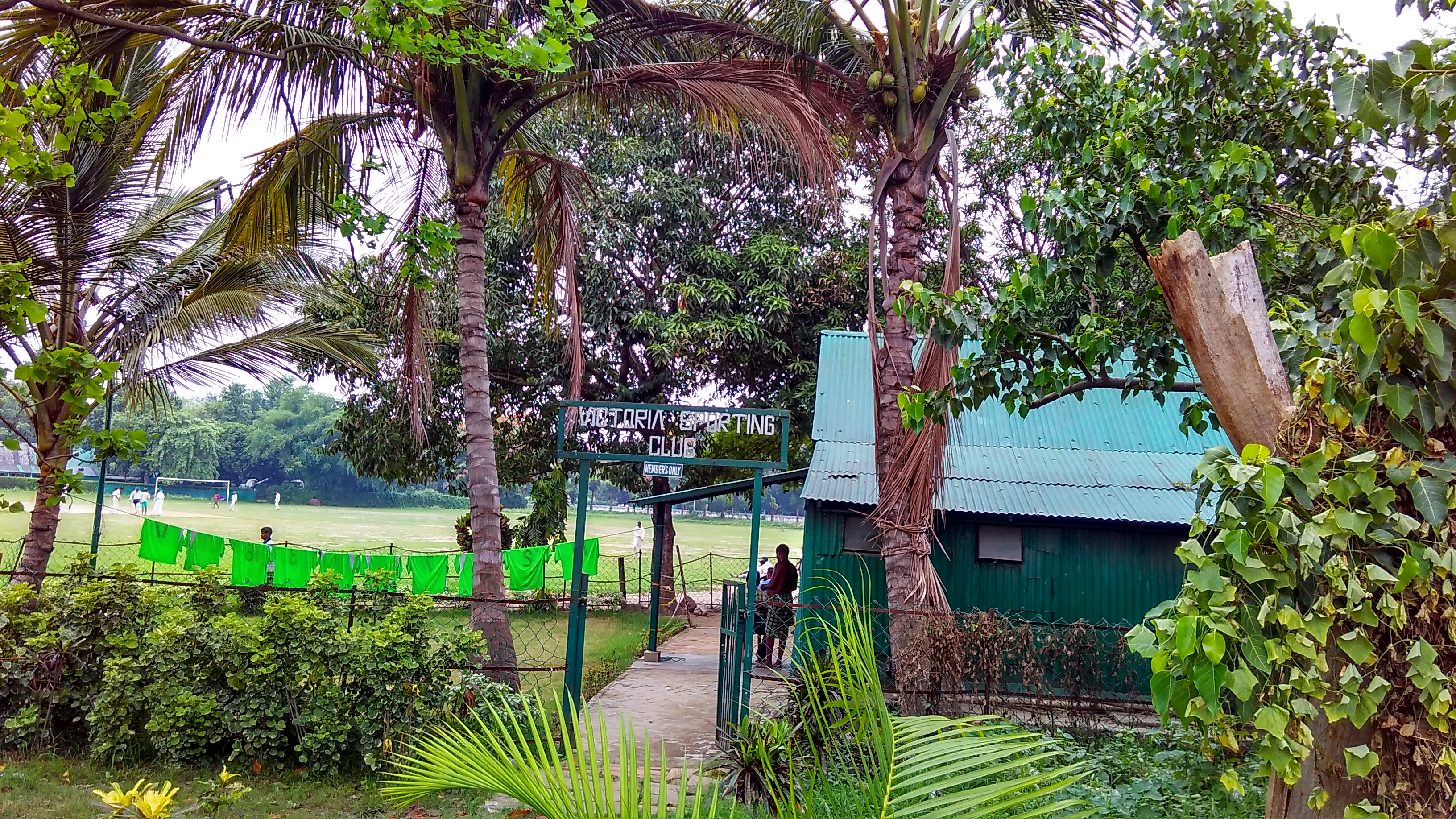 Victoria Sporting Club. Photo by Abhimanyu Sengupta