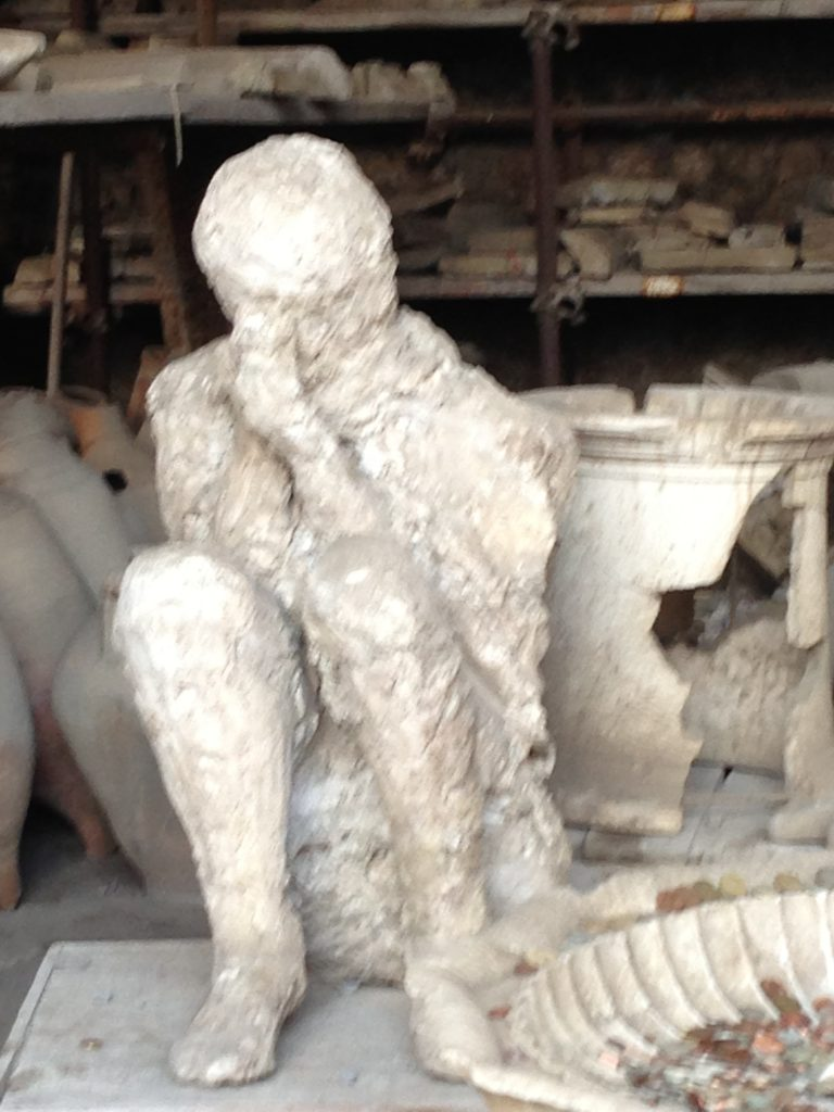 Praying man Pompeii