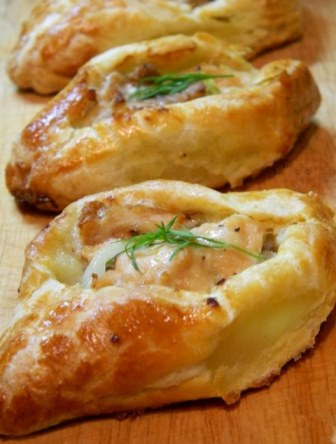 Piroshki with fish