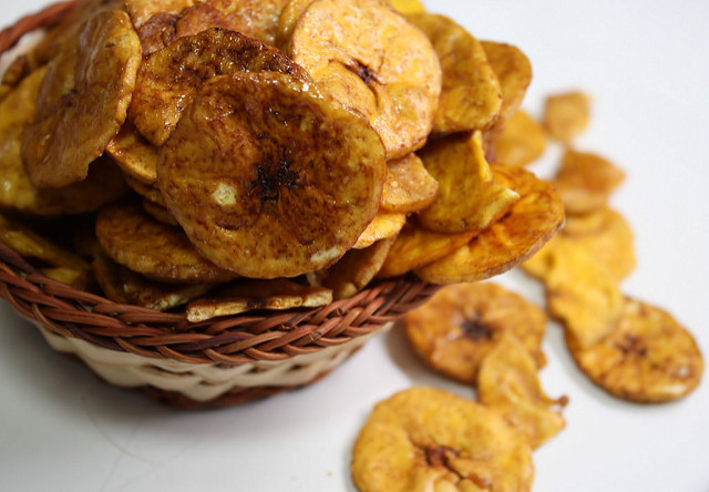 Crispy banana chips Photo courtesy: Flickr