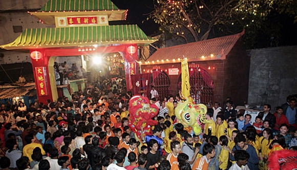 Chinese New Year at Tangra