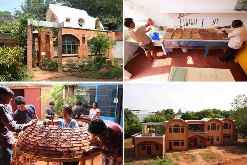 The Auroville Earth Institute. Photo credit: auroville.org