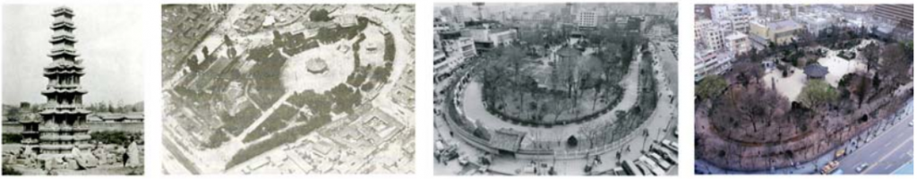 Historical Photographs of Pagoda Park (currently Tapgol Park). Photo credit: Courtesy of Cultural Heritage Administration, Republic of Korea