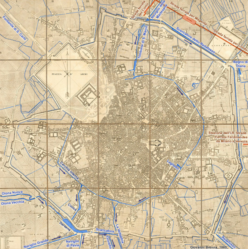 Canal map