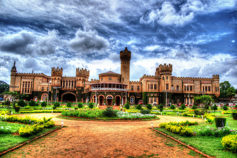 The grand splendor of the Bangalore Palace. Photo credit: iasindia