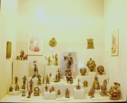 The collection at the Crafts Museum in New Delhi