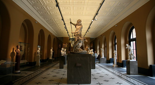 London Victoria and Albert Museum Sculpture Exhibition Room by Junho Jung at Flickr from South Korea