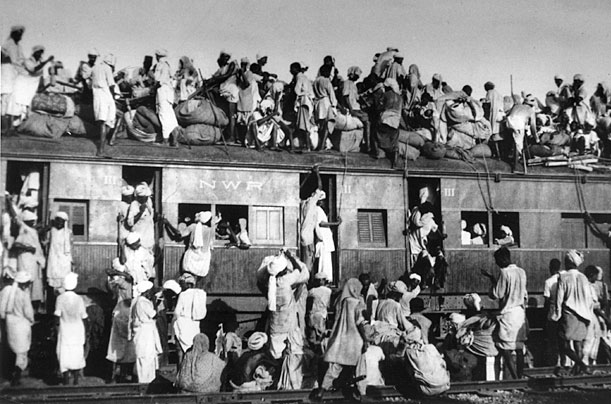 Partition of Punjab India 1947 Source: Wiki Commons