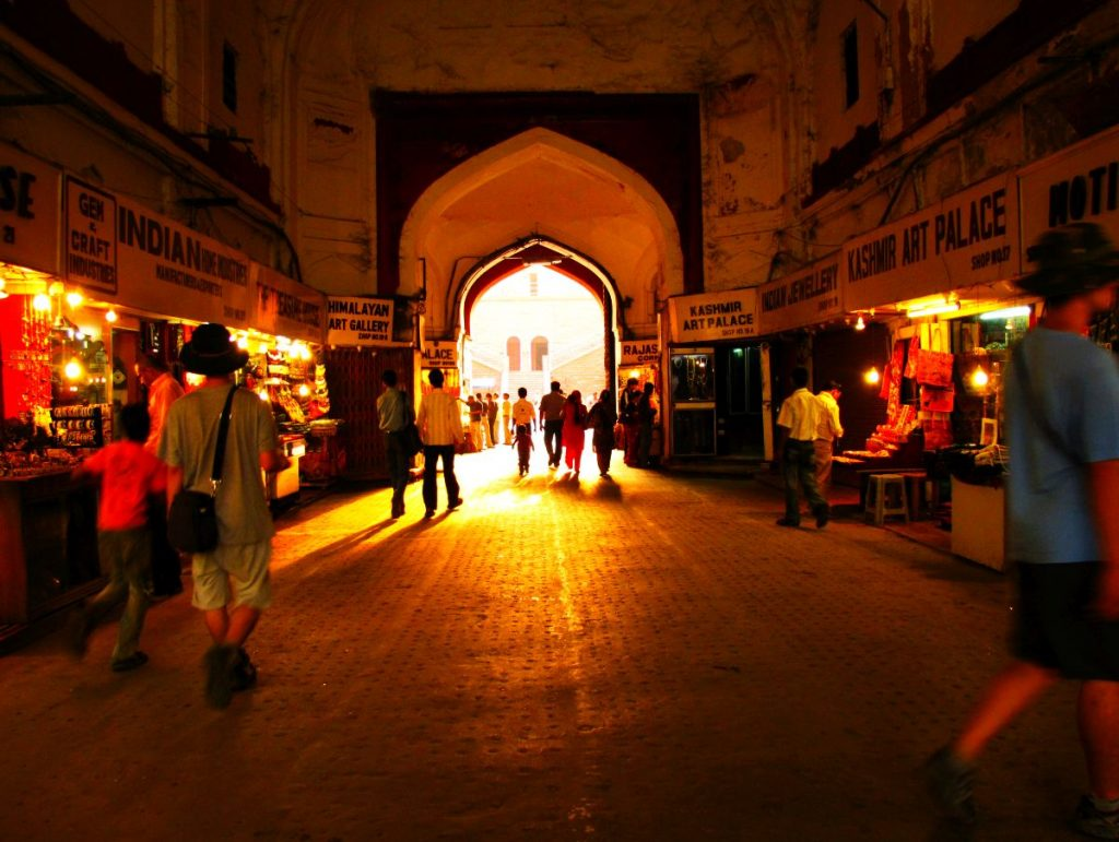 An inside vciew of the Red Fort at Old Delhi. Photo credit: Christopher John via Flickr