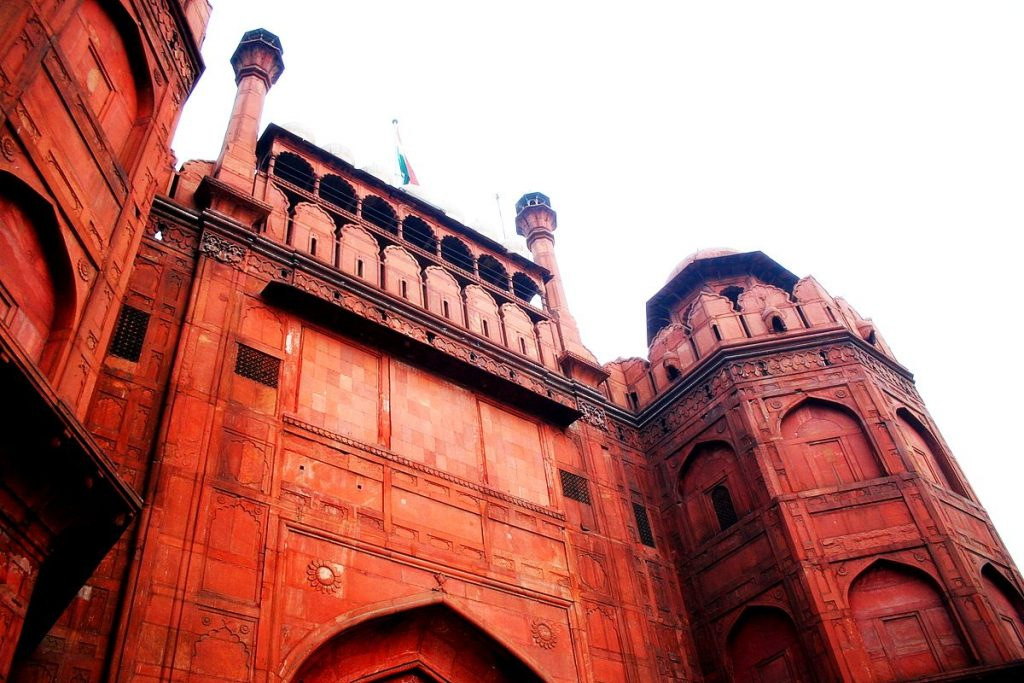 The imposing Lahori Gate. Photo credit: Saad Akhtar via Flickr