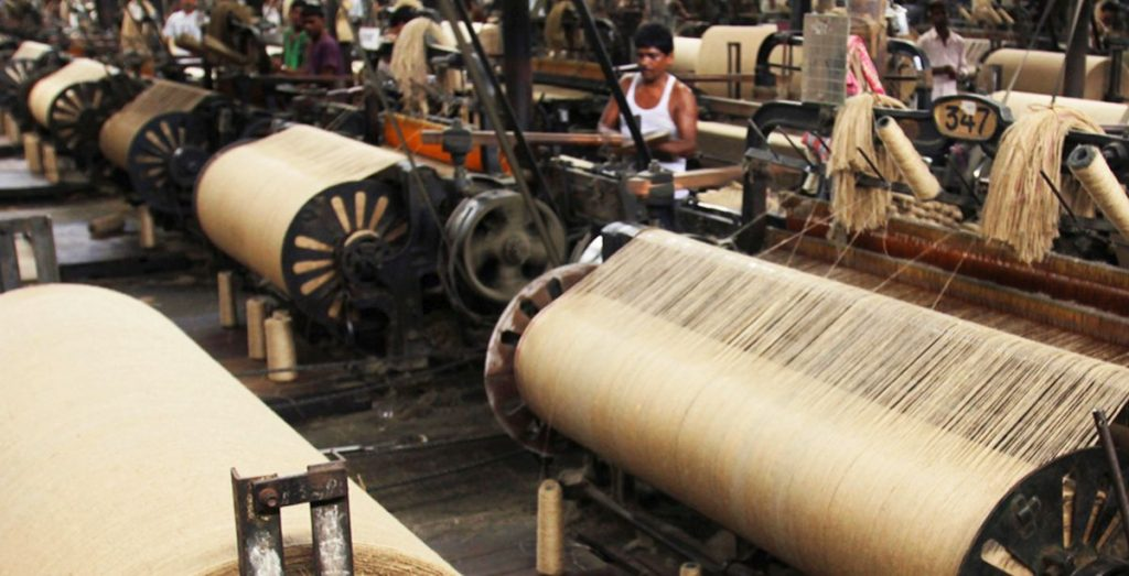 A jute processing plant in Kolkata. Photo credit: jute-india.com