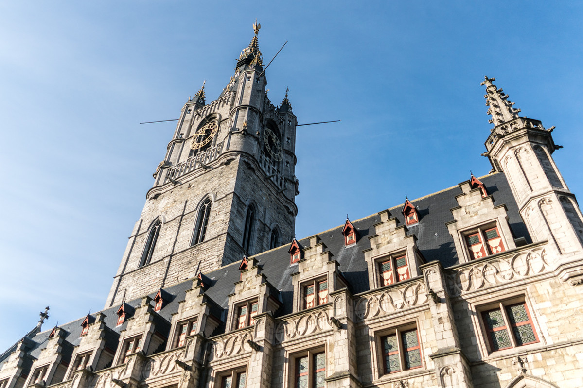Belfries of Belgium and France: Belfry of Ghent shown
