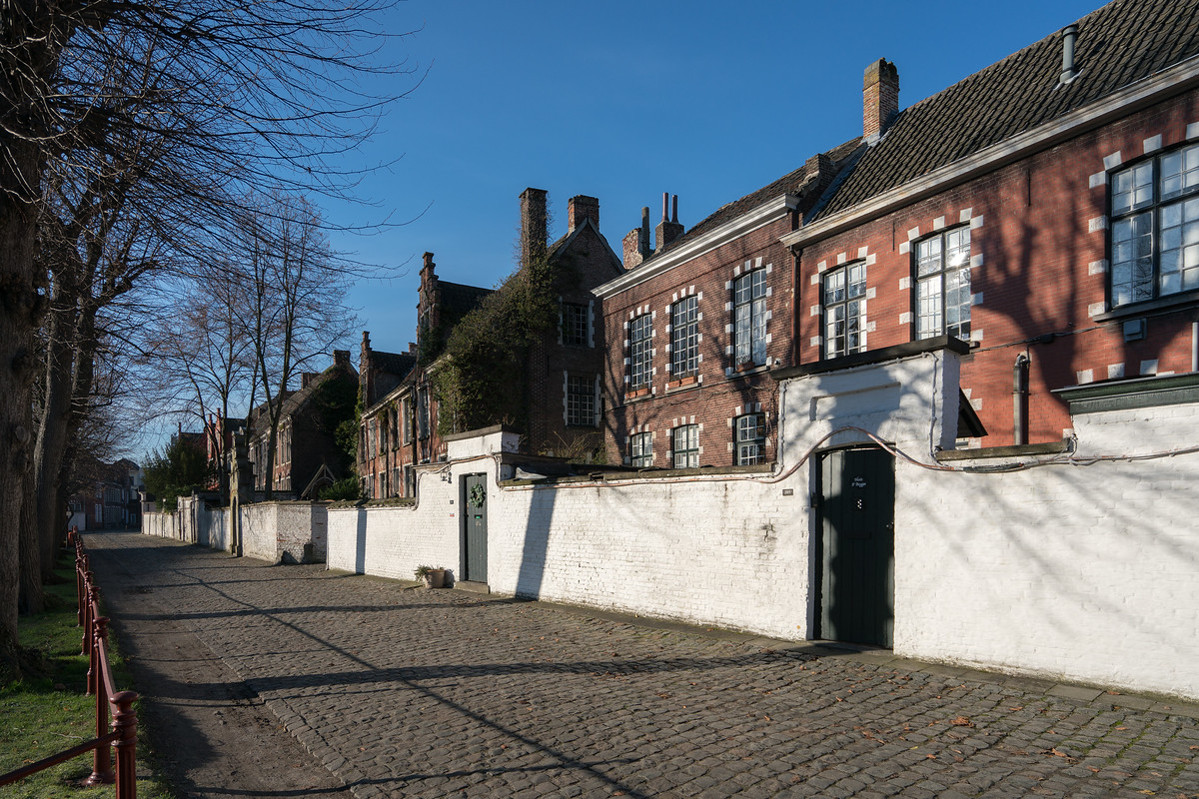 Flemish Beguinages: Our-Lady Ter Hooyen, Ghent