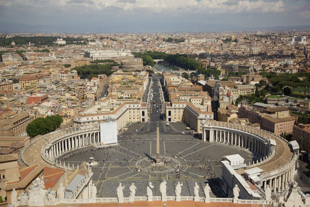 A top view of the beautiful Vatican Photo Courtesy: Aurelien Guichard