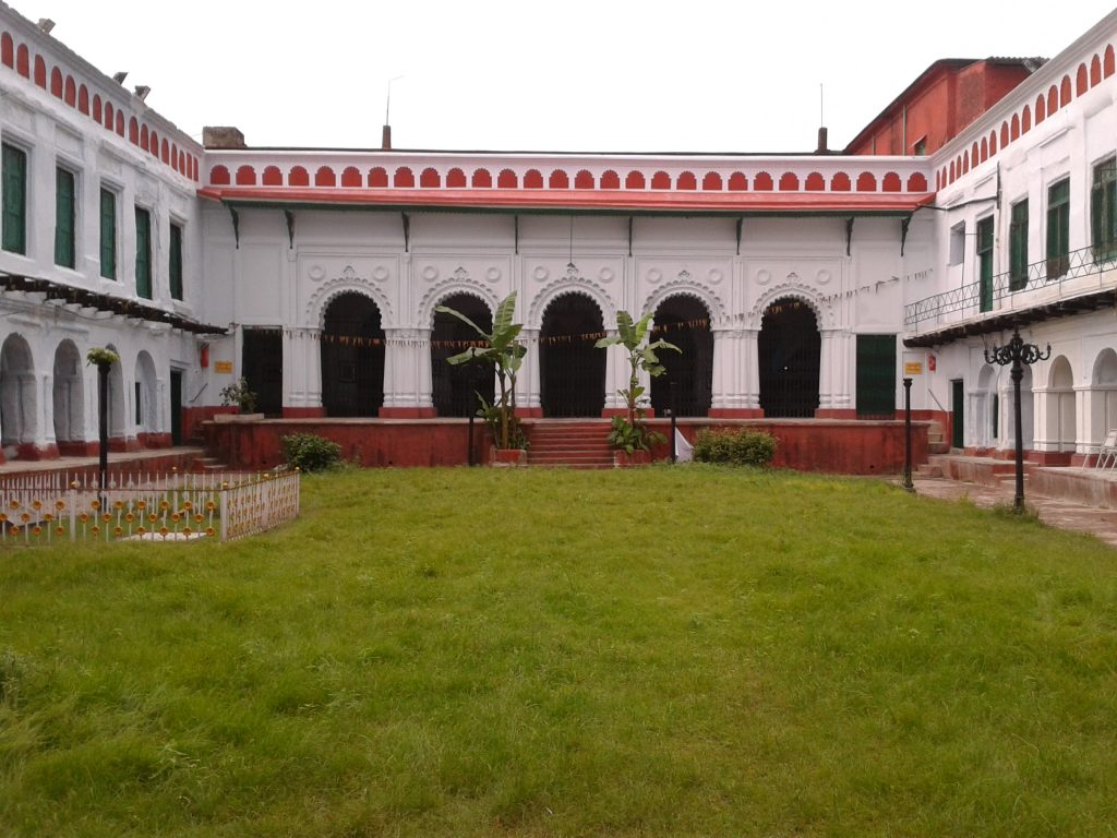 The house of Raja Nabakrishna Deb