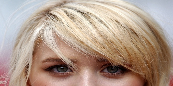 Try Side Swept Bangs for the Start