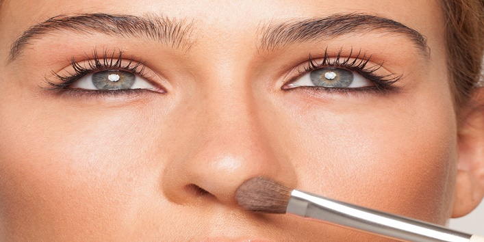 How to make your nose beautiful and toned with few makeup tips1