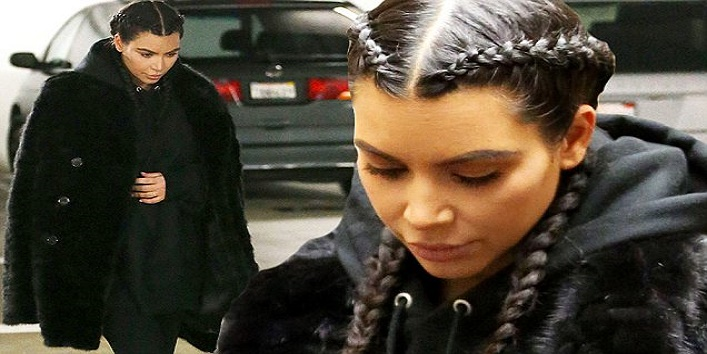 EXCLUSIVE: ** PREMIUM EXCLUSIVE RATES APPLY**WEB EMBARGO UNTIL 11AM PST 07TH JANUARY 2016** Kim Kardashian steps out for the first time in 2016 as she visits a doctor's office in Beverly Hills. Kim has been keeping a low profile since the birth of son Saint last month. Photos taken on January 5th 2016. Pictured: Kim Kardashian Ref: SPL1203498 070116 EXCLUSIVE Picture by: Splash News Splash News and Pictures Los Angeles: 310-821-2666 New York: 212-619-2666 London: 870-934-2666 photodesk@splashnews.com