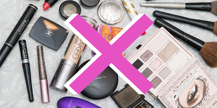 Get rid of your old makeup