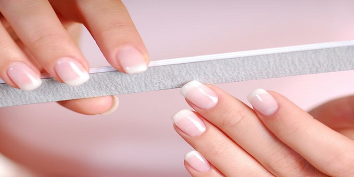 File the Chipped Nail