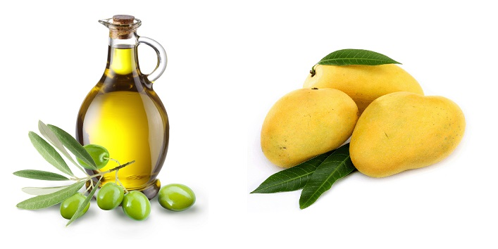 Mango With Olive Oil Hair Pack