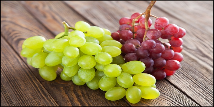 Grapes to improve elasticity and firmness of your skin