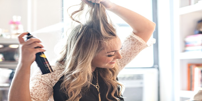 Apply Your Dry Shampoo Before Going To Bed, Instead Of Next Morning