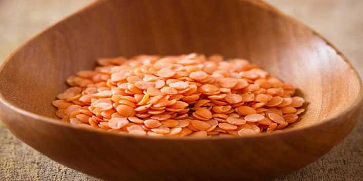 Use of lentil pulses