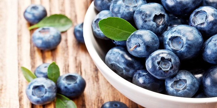 Blueberries for maintaining immunity
