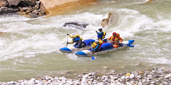 Experience of adventure sports