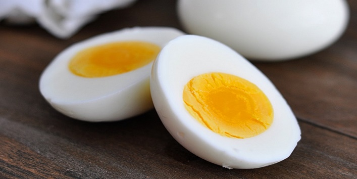 With eggs