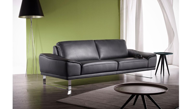 Lederwerkstatt by hilker berlin full leather 3 seater sofa for Berlin furniture