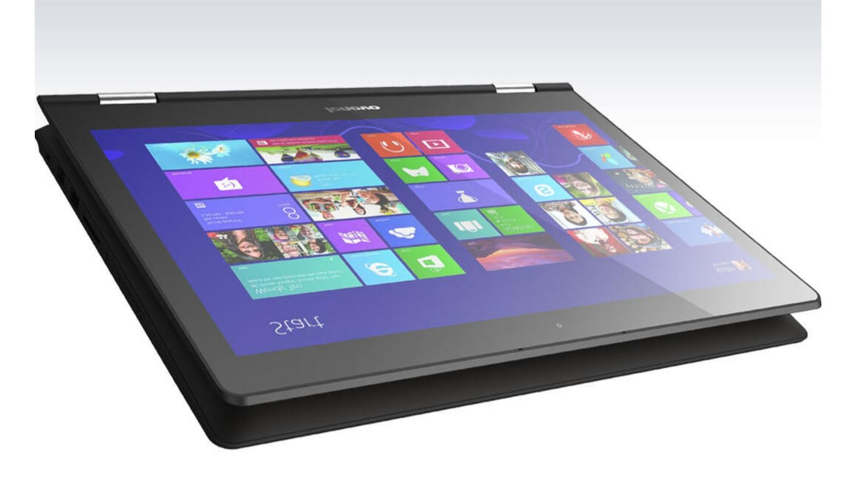 Yoga 500 sở hữu màn hình cảm ứng đa điểm 14 inch Full HD sắc nét