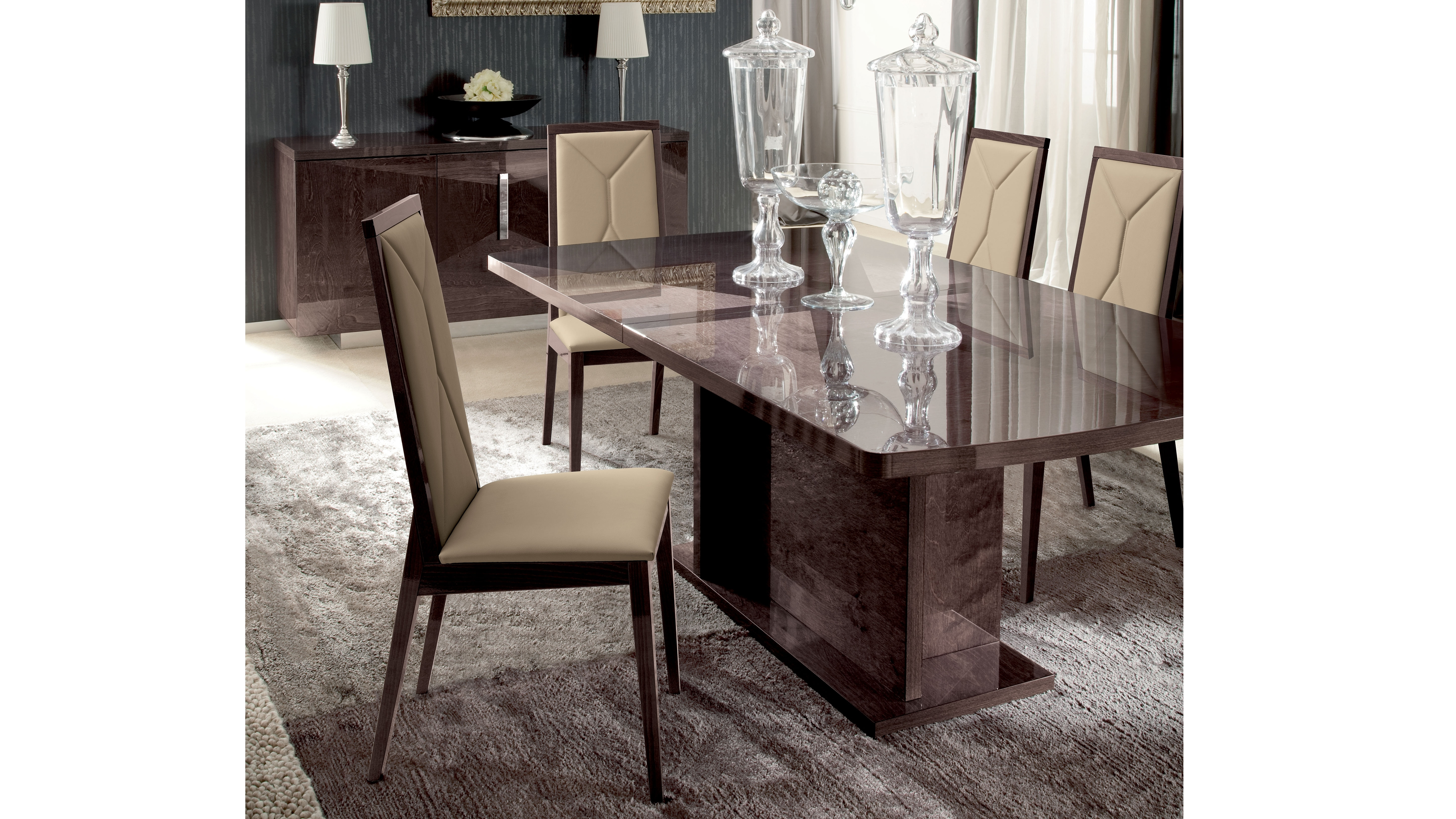 Alf eva dining table 160cm harvey norman singapore for Dining room tables harvey norman