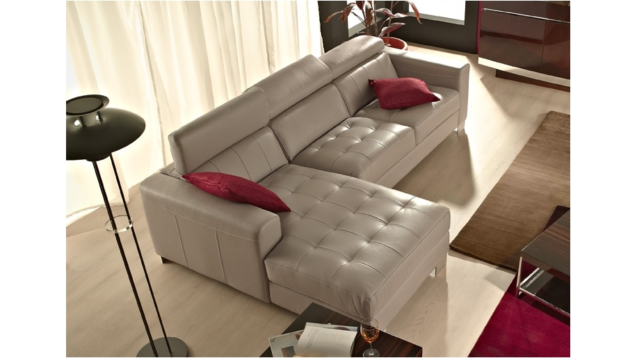 Saporini gloria full leather 2 5 seater sofa with chaise for 2 5 seater sofa with chaise