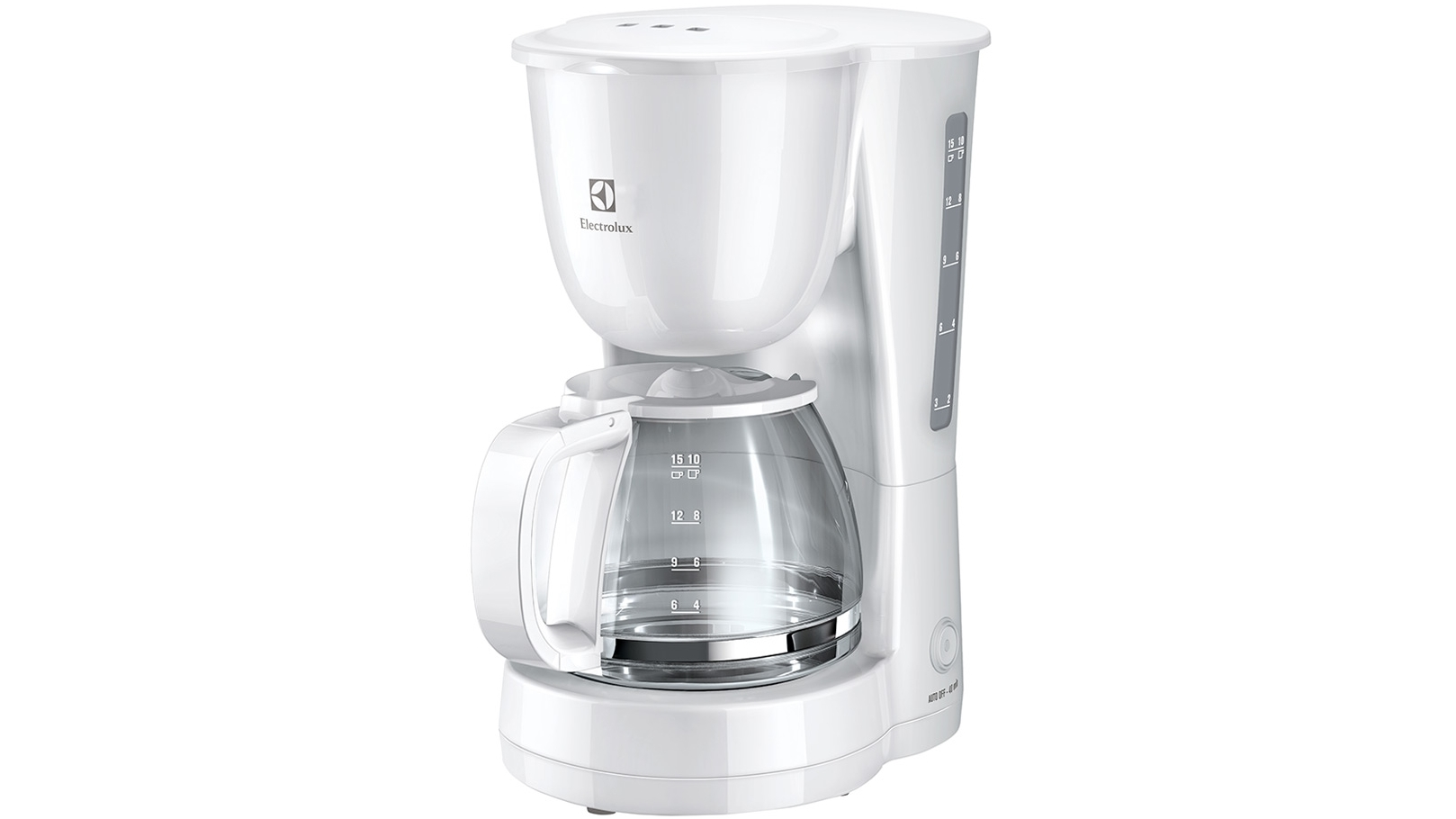 Coffee Maker From Electrolux : Electrolux ECM1303W Anti Drip Coffee Maker - White Harvey Norman Malaysia