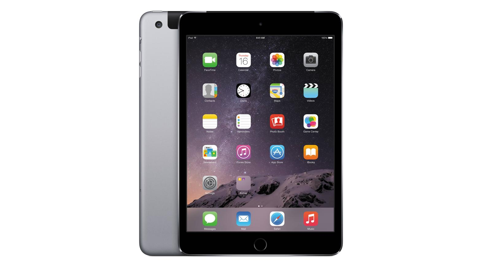 Nationwide Mattress Stores Apple iPad mini 3 4G 16GB - Space Gray | Harvey Norman Malaysia