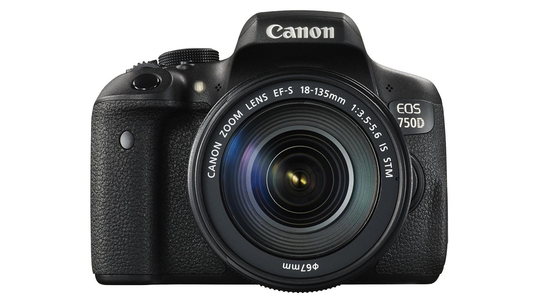 canon eos 750d kit ii ef s18 135mm is stm dslr camera. Black Bedroom Furniture Sets. Home Design Ideas