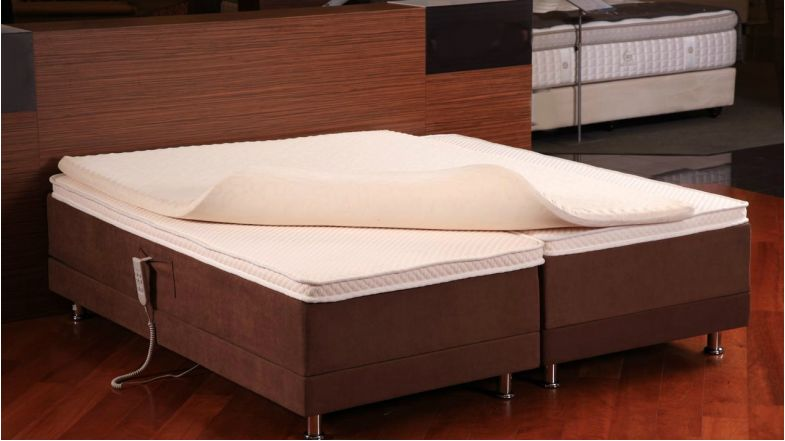 ashley summers memory foam super single mattress topper. Black Bedroom Furniture Sets. Home Design Ideas