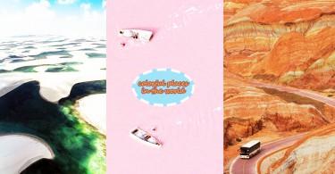 2017年值得一去!全球8個超現實的粉色系夢幻旅行地!識去一定去呢啲。