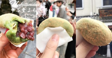 經典中的經典!日本奈良艾草紅豆麻糬~現場揼麻糬好震撼啊~~~
