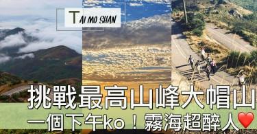 香港最高嘅山峰!一個下午輕鬆行大帽山,初哥都行到?