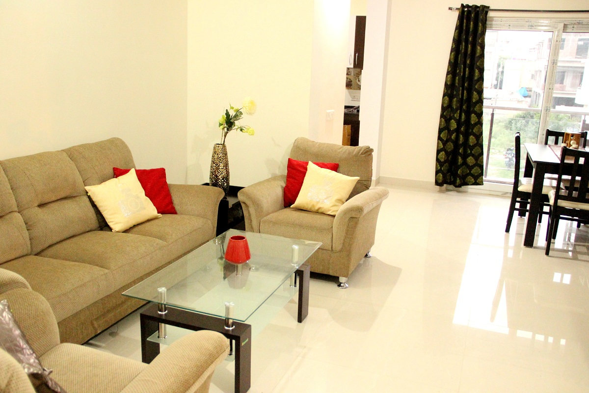2 BHK Flat for rent in Homigo Palatino, Domlur, Bangalore | Homigo