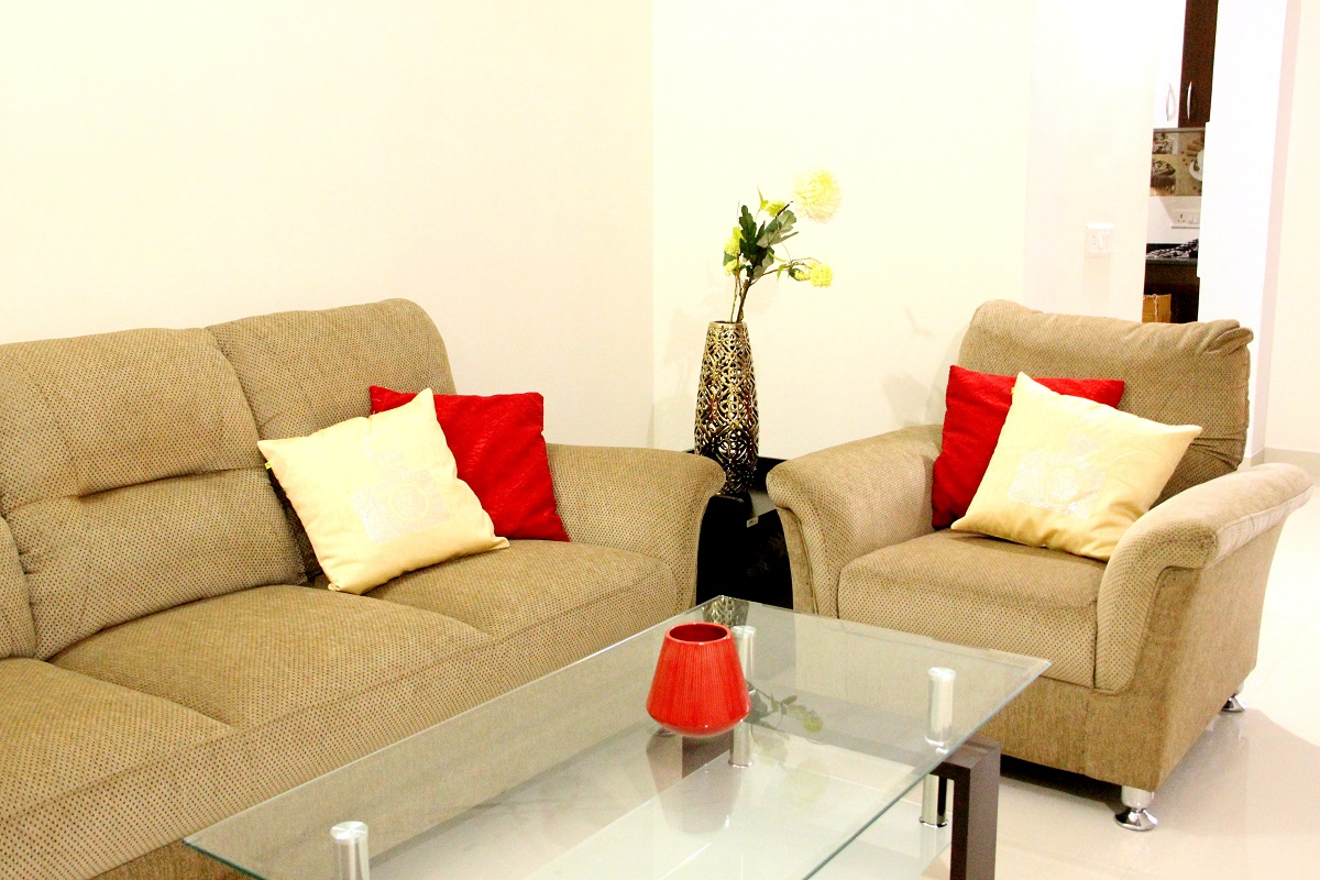 2 BHK furnished & semi-furnished Flat for rent in Homigo Palatino, Domlur, Bangalore | Homigo