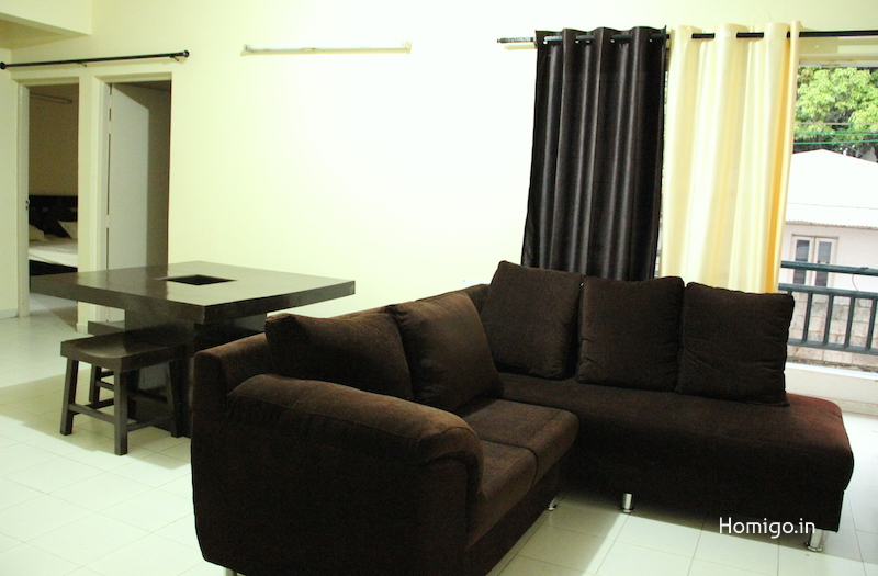2 BHK Flat for rent in Mantri Woodland, Bannerghatta, Bangalore | Homigo