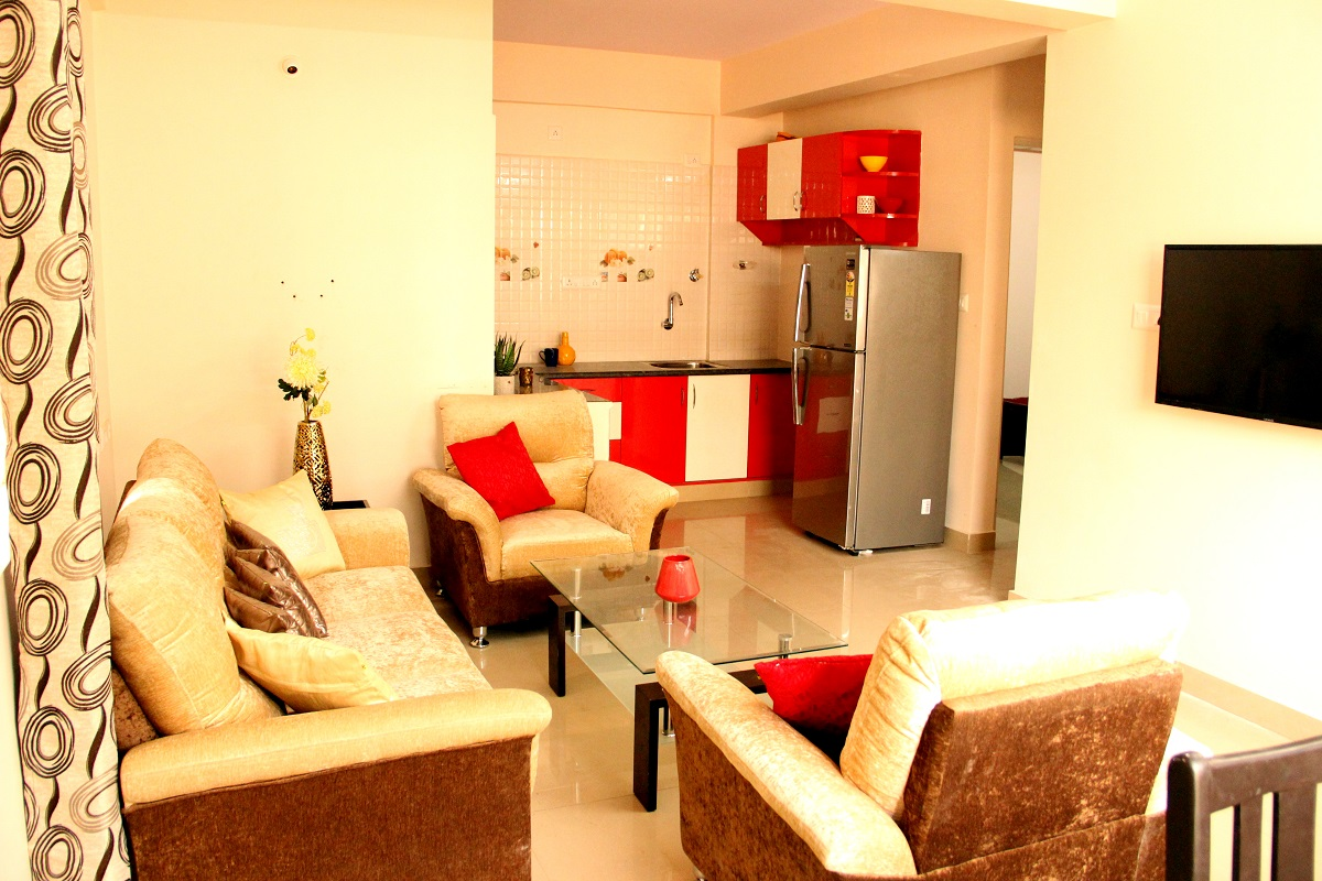 2 BHK furnished & semi-furnished Flat for rent in Homigo Lucida, Teachers' Colony, Bangalore | Homigo